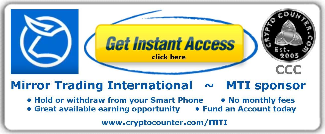 Open a Mirror Trading International (MTI) Account and Register Today